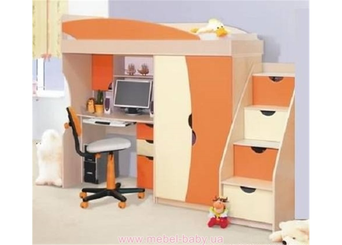 Кровать стол Саванна