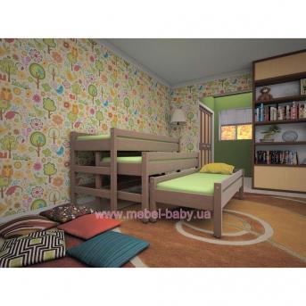 Кровать-трасформер ТИС Детская 3 в 1