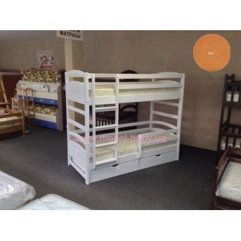 Двухъярусная кровать Мила 80х190