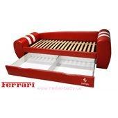 Кровать - диван серия ГРАНД 2550х840х700 с ЛДСП (выездной ящик)