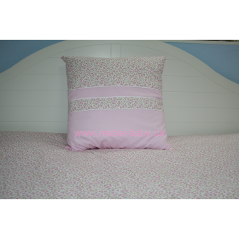 Подушка 50х50 розовая