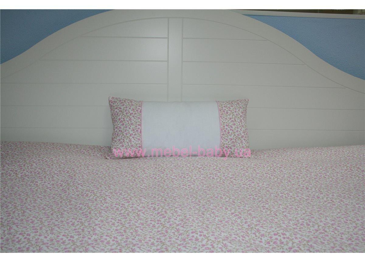 Подушка 50х25 розовая
