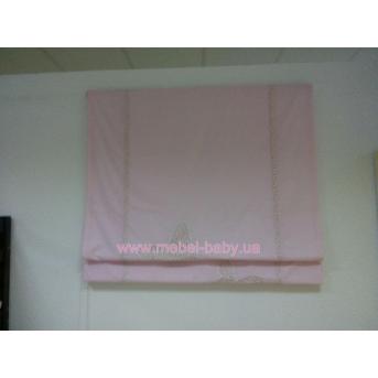 Штора 120х170 розовая