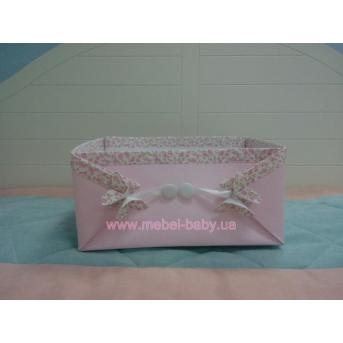Коробочка розовая