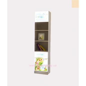 Пенал с тремя ящикми и одной дверкой Сказка 211x45