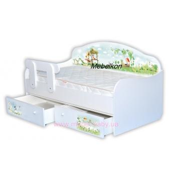 Кроватка диванчик MebelKon Нежность 160x80