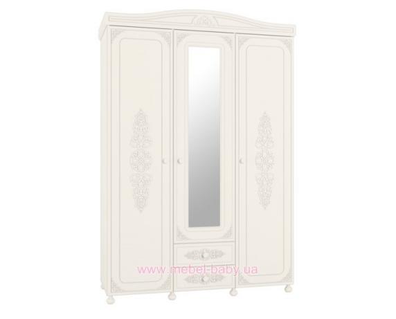 Шкаф 4-х дверный Ассоль АС-28 Санти Мебель