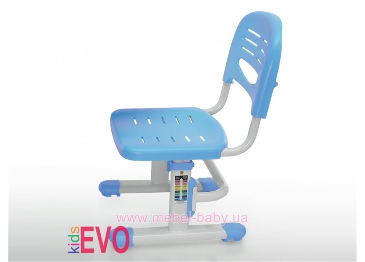 Стульчик Evo-kids EVO-301 PN (арт.EVO-301 PN) белый металл / сиденье,спинка,накладки-розовые