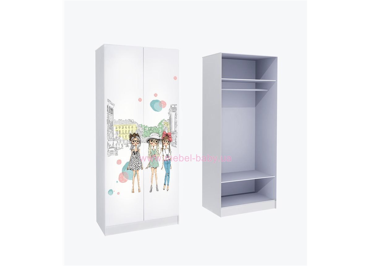 Шкаф для одежды Гламур 211x90x50