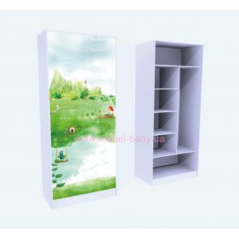 Шкаф Нежность Комбинированный 211x100x50