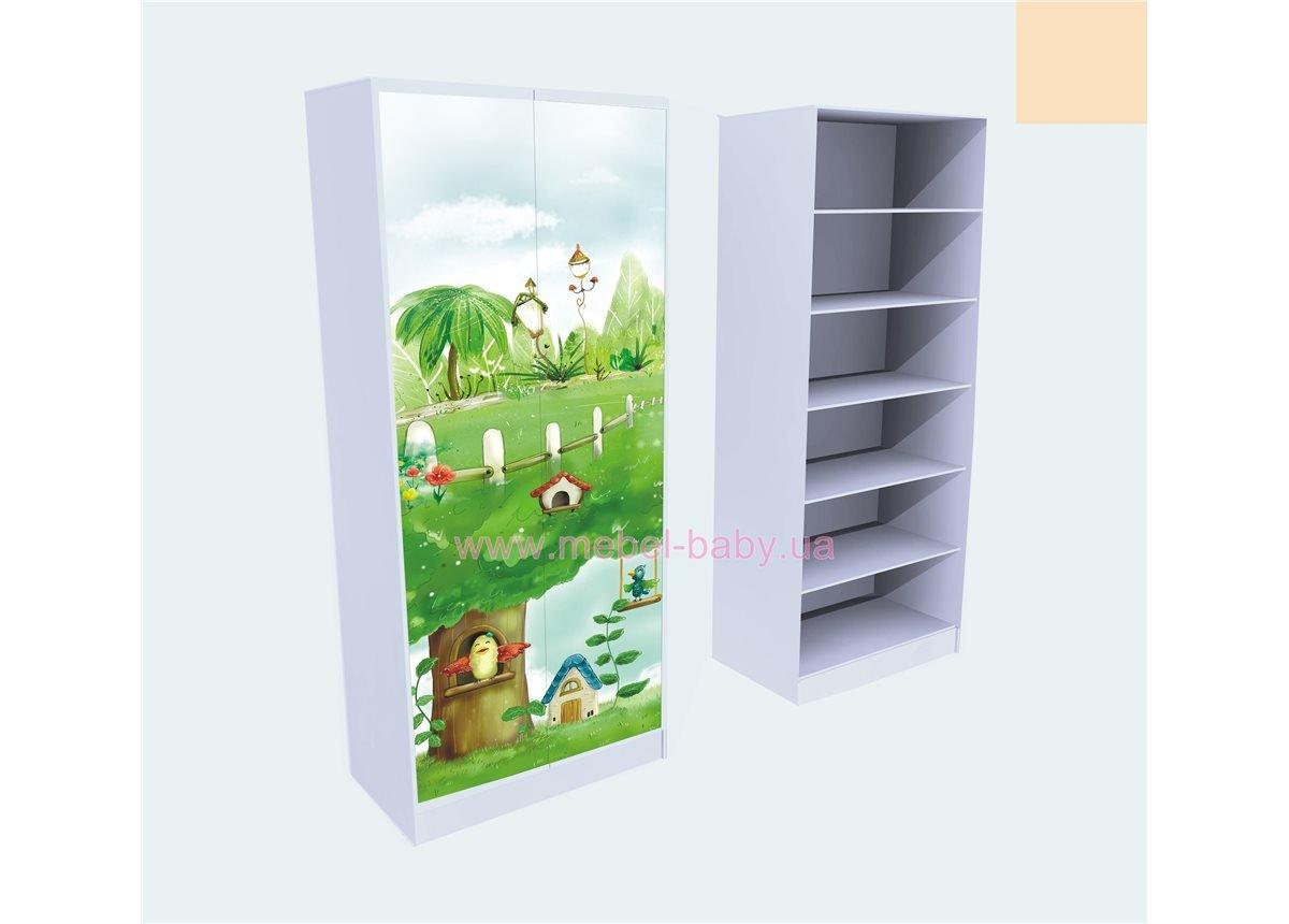 Шкаф для Белья Нежность 211x100x50