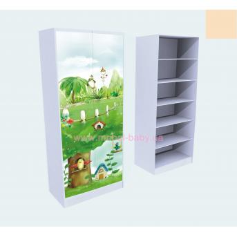 Шкаф для Белья Нежность 211x90x50