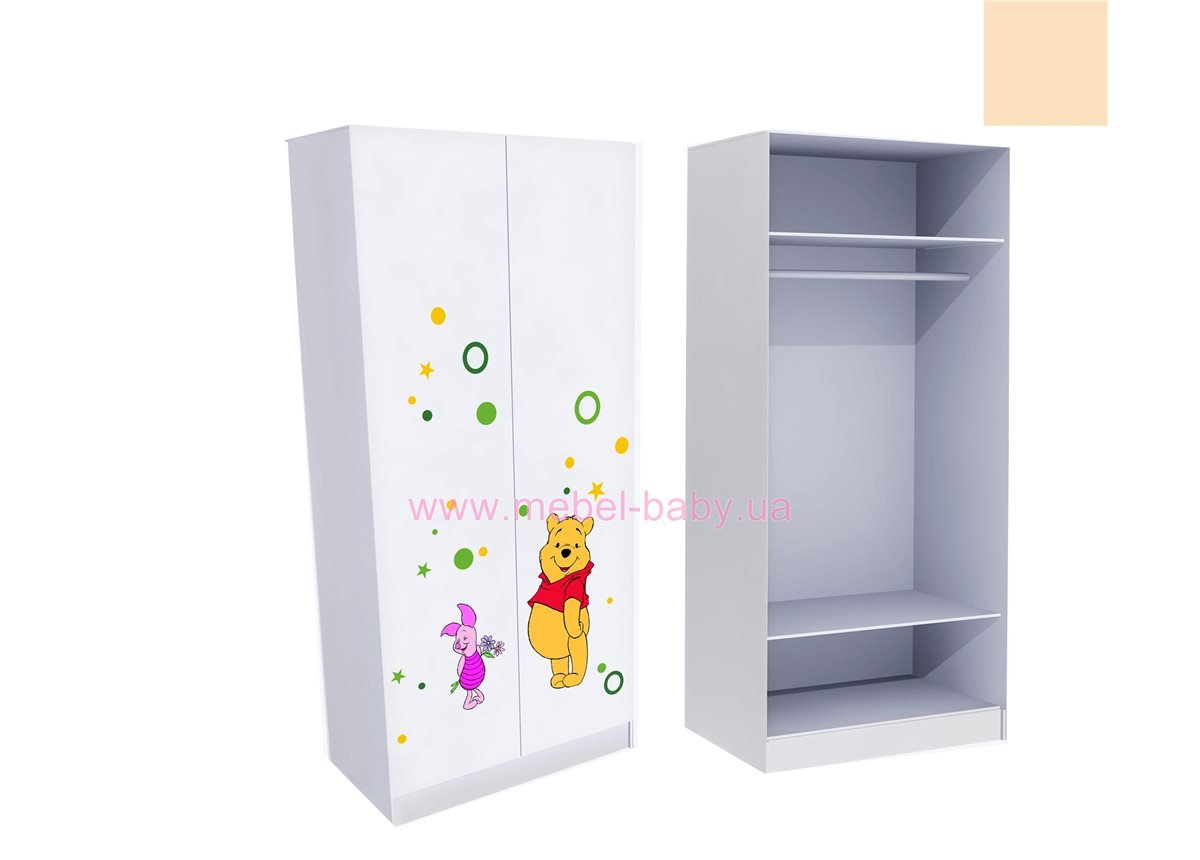 Шкаф для одежды Винни 2 211x100x50
