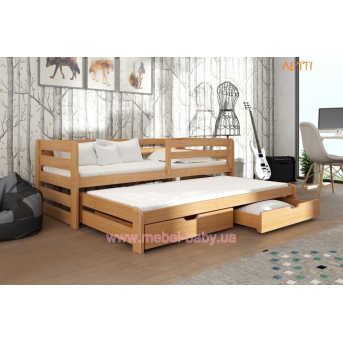 Кровать-диванчик Летти Мистер Мебл 80*190 бук