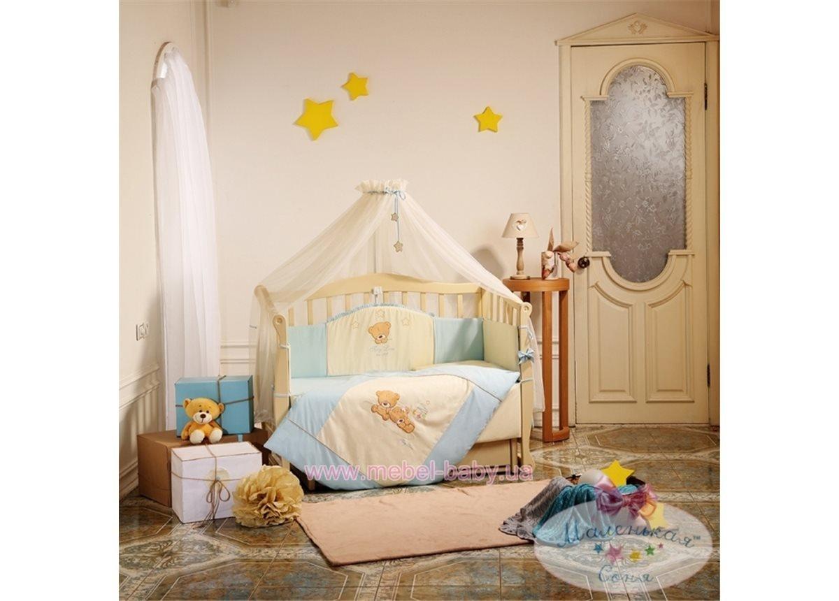 Набор постельного белья Tiny Love (7 предметов) голубой