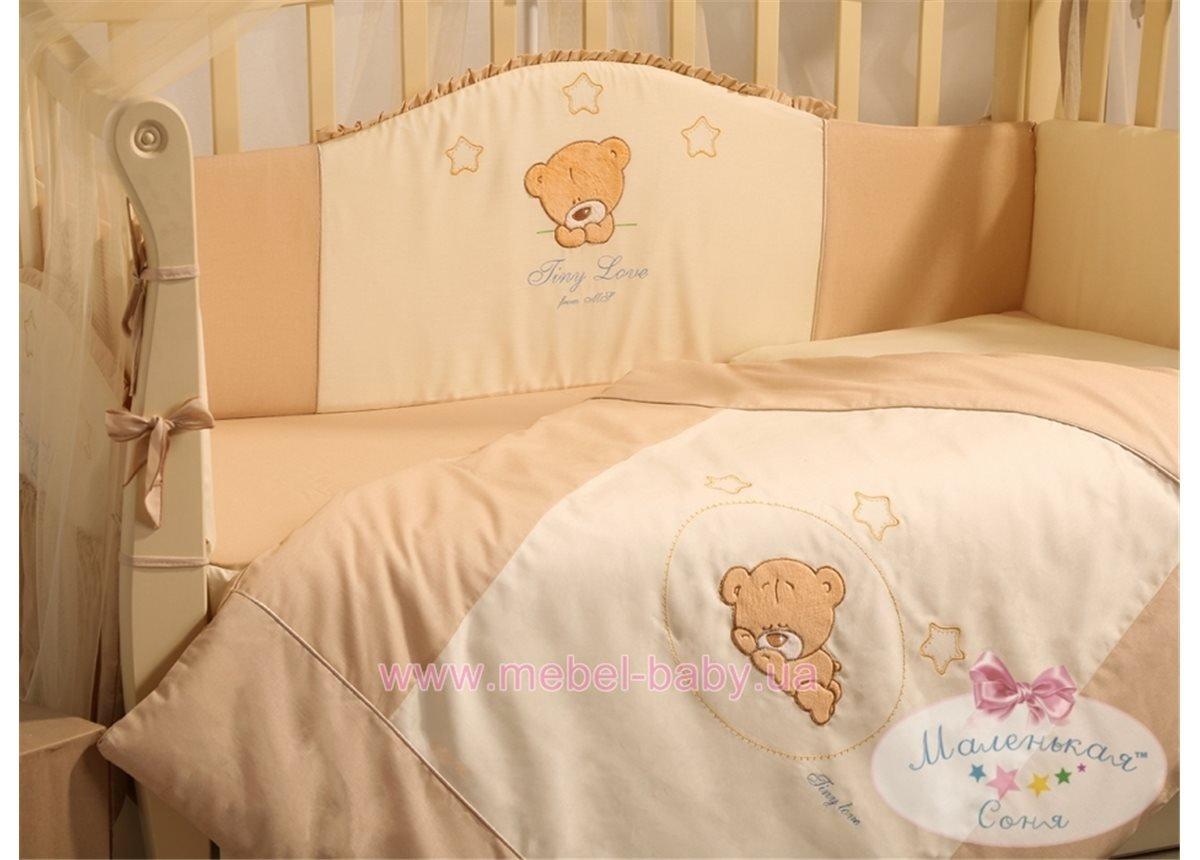 Набор постельного белья Tiny Love (6 предметов) шоколадный