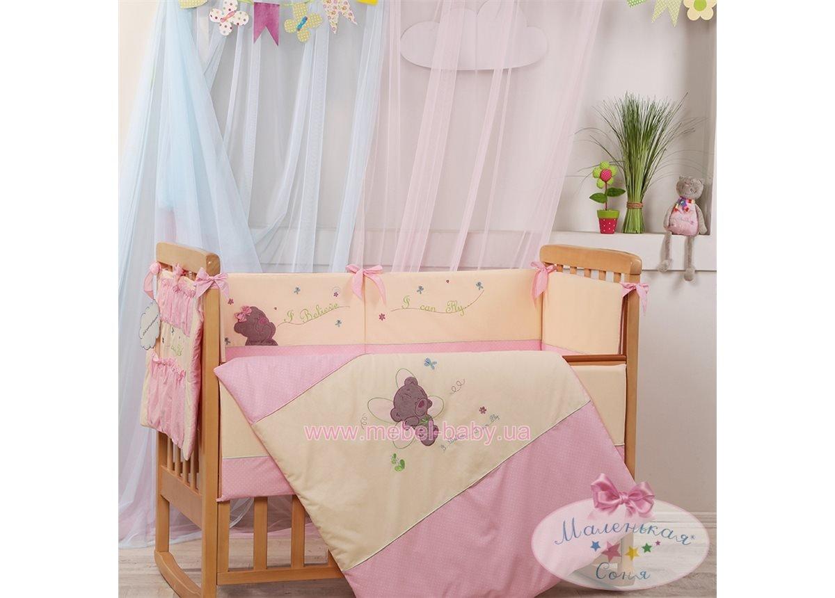 Набор постельного белья Детские мечты(6 предметов) воображуля розовый