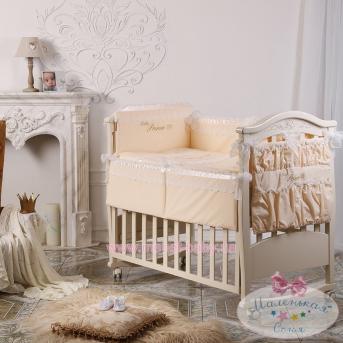 Набор постельного белья Маленький принц(6 предметов) бежевый