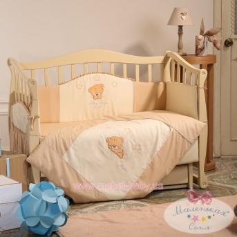Спальный комплект постельного белья белья Tiny Love  шоколадный