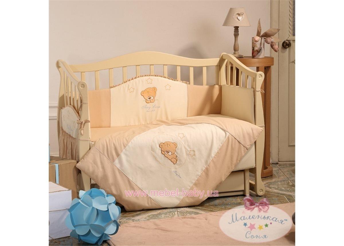 Спальный комплект постельного белья Tiny Love шоколадный
