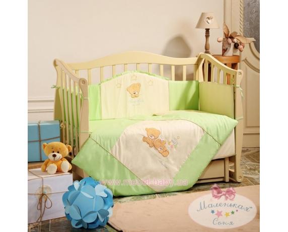 Спальный комплект постельного белья Tiny Love салатовый