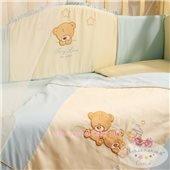 Спальный комплект постельного белья Tiny Love голубой