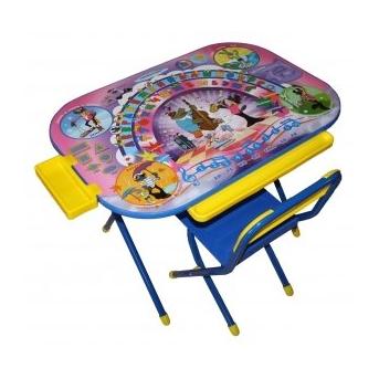 """Набор детской мебели №2 р """"Дошкольник"""" Ну, погоди - синий"""