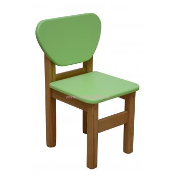Стульчик дерево/пленка МДФ зеленый, арт. 30.2.18