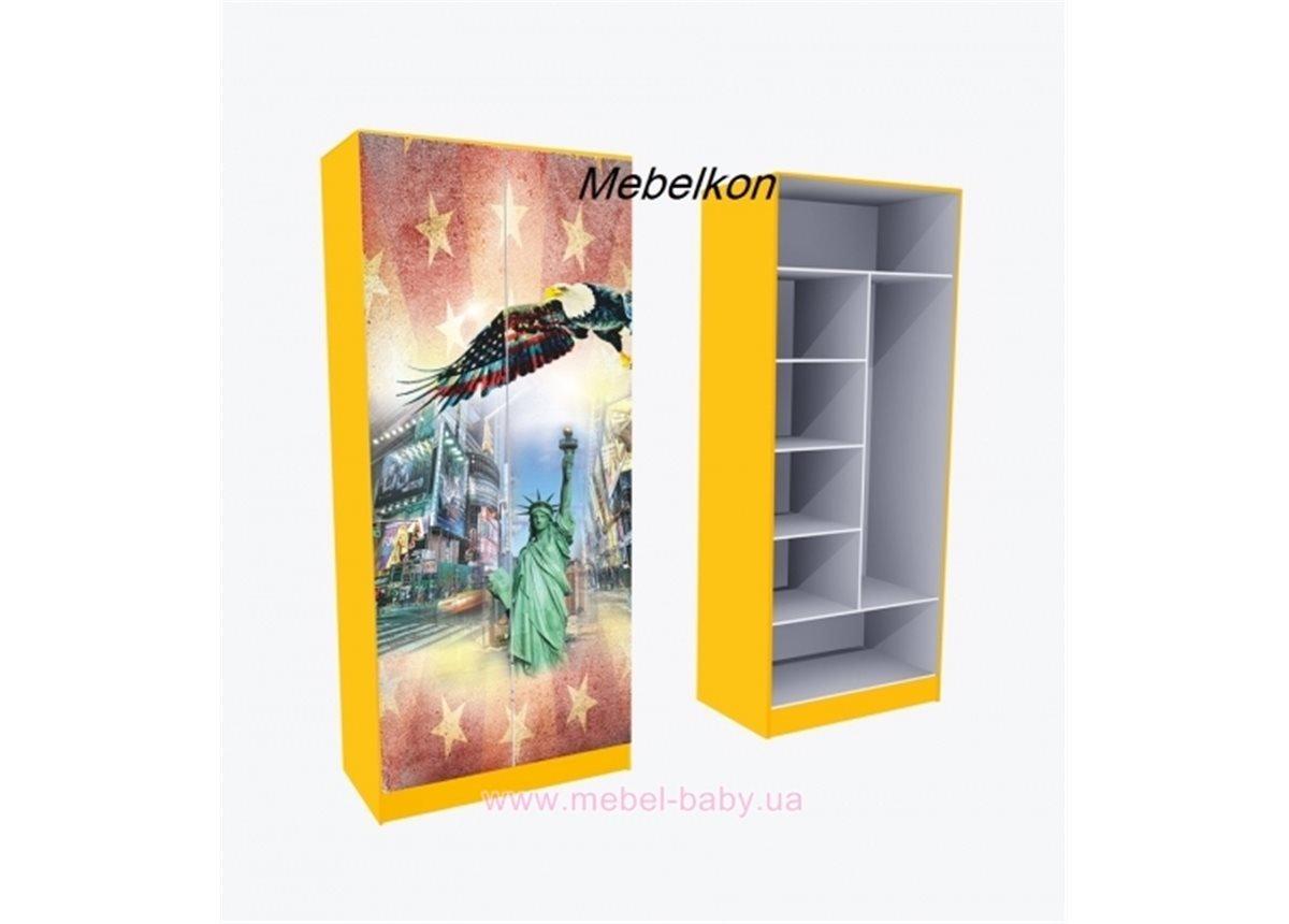 Шкаф комбинированый  Амeрика 211x80x50