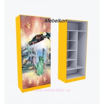 Шкаф комбинированый  Амeрика 211x90x50