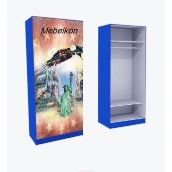 Шкаф для одежды Амeрика 211x90x50