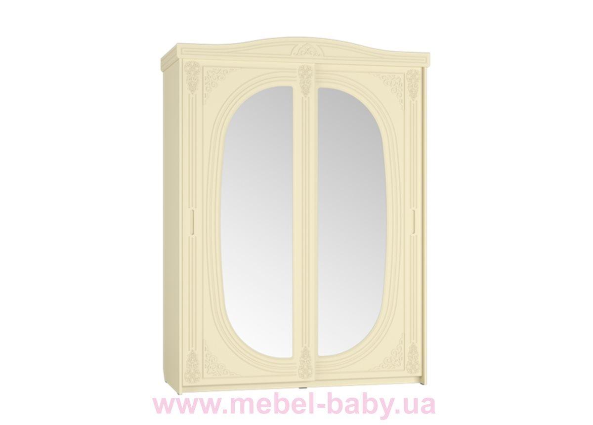 Шкаф-купе с зеркалом Ассоль Premium АС-16 Санти Мебель