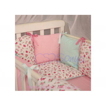 Сменный комплект постельно белья Бейби дизайн №14 Прованс