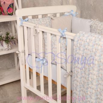 Сменный комплект постельно белья Бейби дизайн №1 Ісе