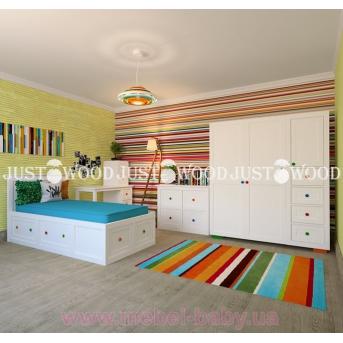 Кровать детская Пинокио 80x160