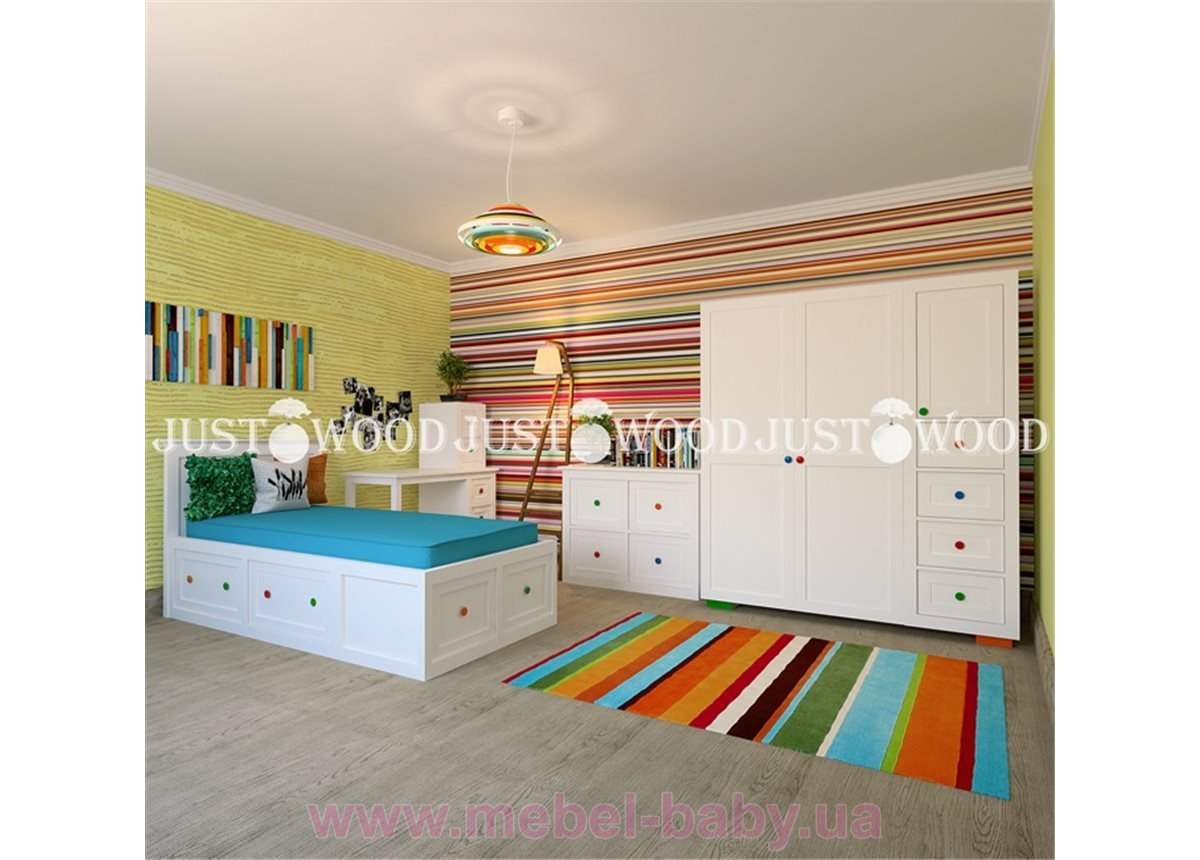 Кровать детская Пинокио 90x190