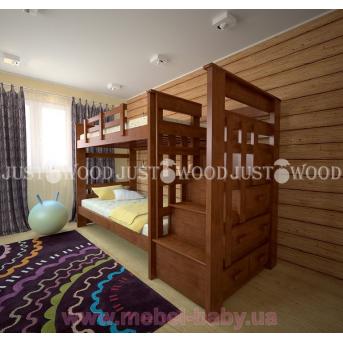 Кровать детская двухъярусная Авоська