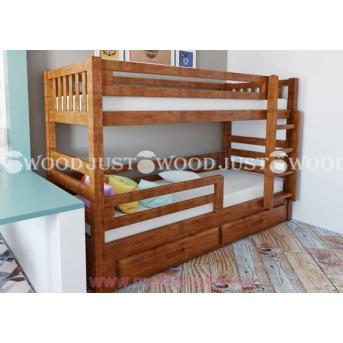 Кровать детская двухъярусная Панда