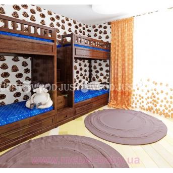 Кровать детская двухъярусная Квартет