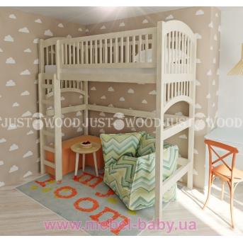 Кровать детская двухъярусная Артемон чердак