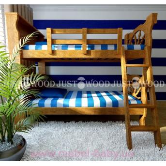 Кровать детская двухъярусная Матроскин