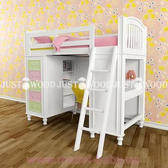 Кровать детская двухъярусная Гуффи