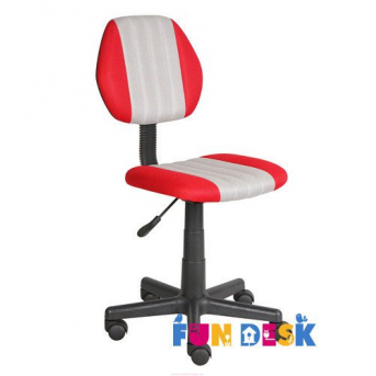 Детское кресло Fundesk LST4 Red-Grey