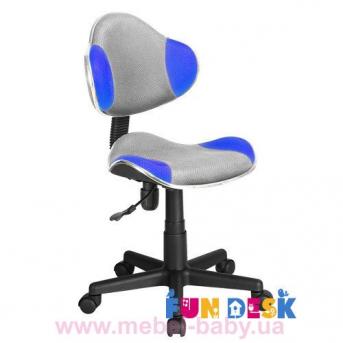 Детское кресло Fundesk LST3 Blue-Grey