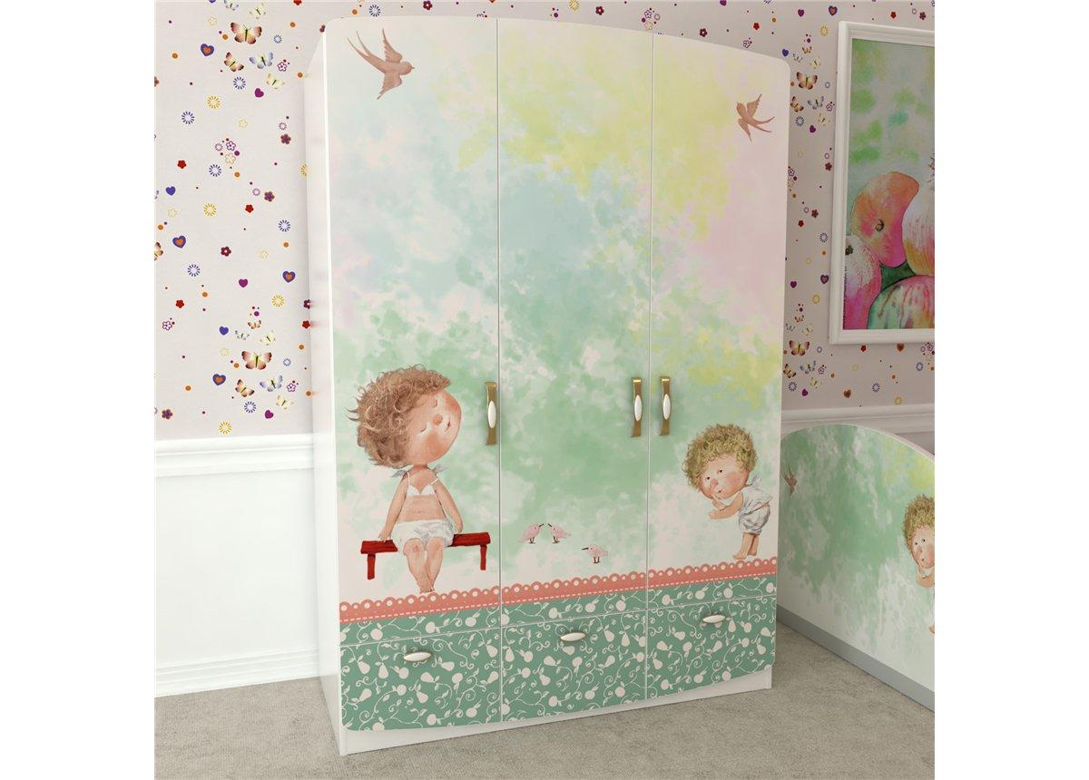 Шкаф на 3 двери Стерх Изображения Евгении Гапчинской