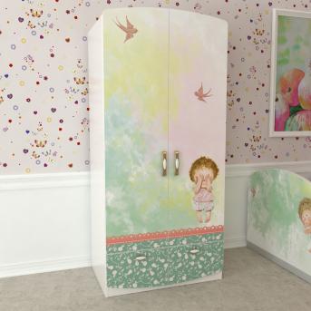 Шкаф на 2 двери Стерх Изображения Евгении Гапчинской