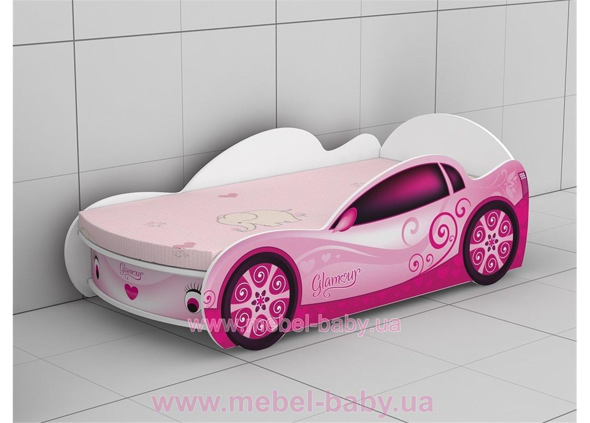 Кровать-машинка  KM-380 Гламур