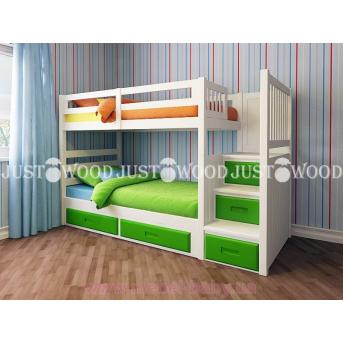 Кровать детская двухъярусная Шериф+