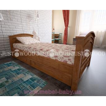 Кровать Дональд с ящиками 90x190 Justwood