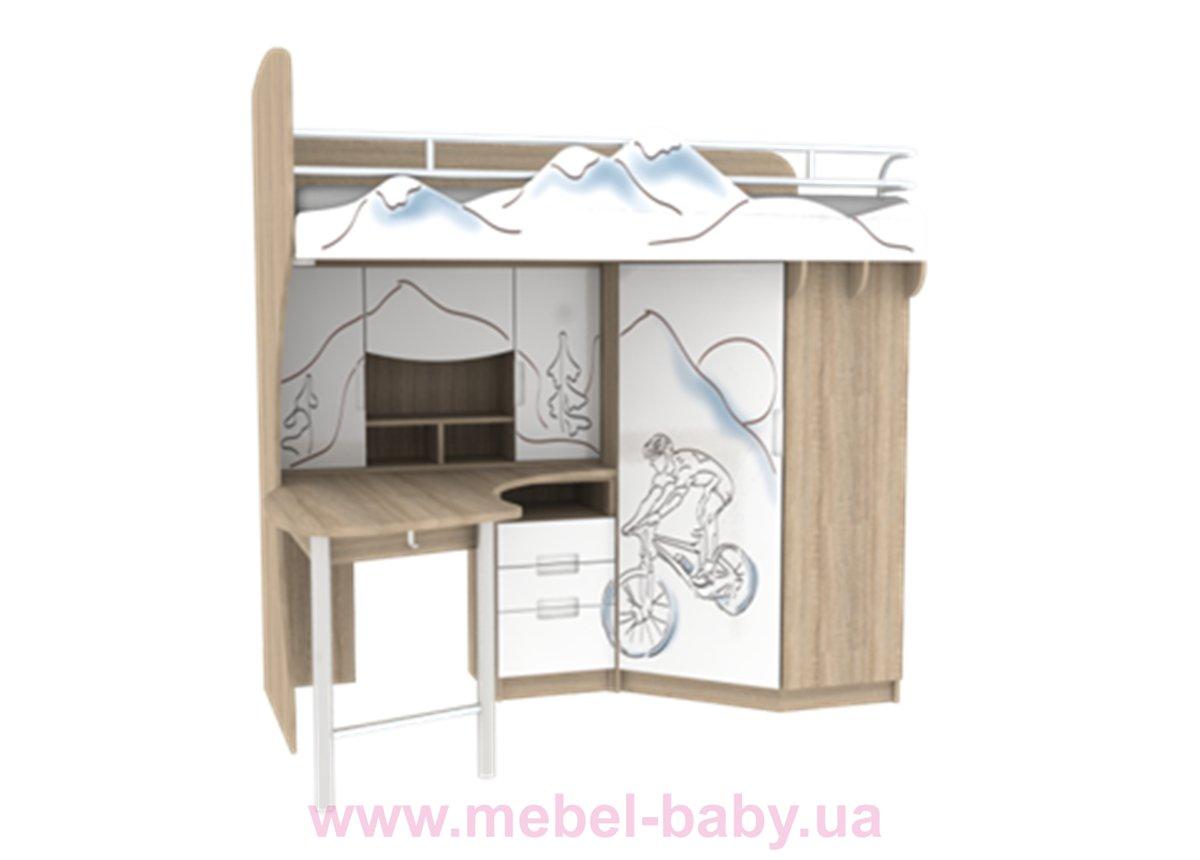 Кровать-чердак Экстрим N-MOD-01